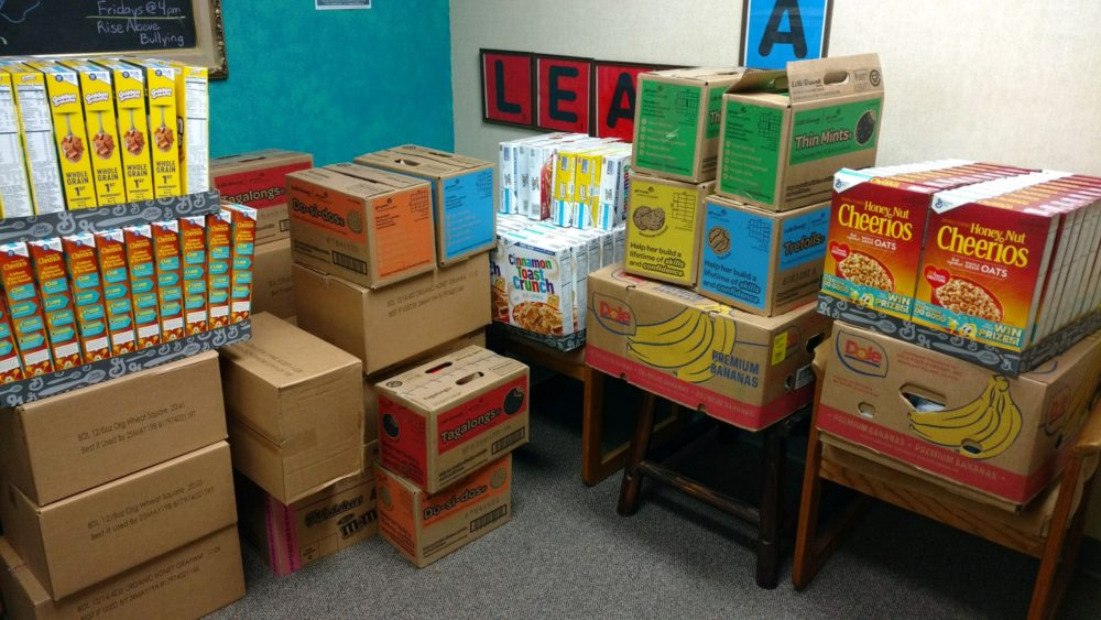 Donation to the SAFY Youth Drop-in Center